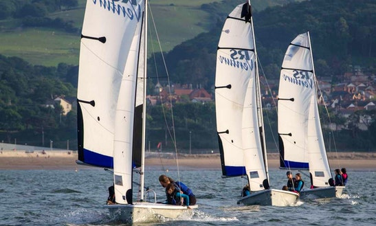 Beach Monohulls Rental In Conwy, United Kingdom For 8 Person