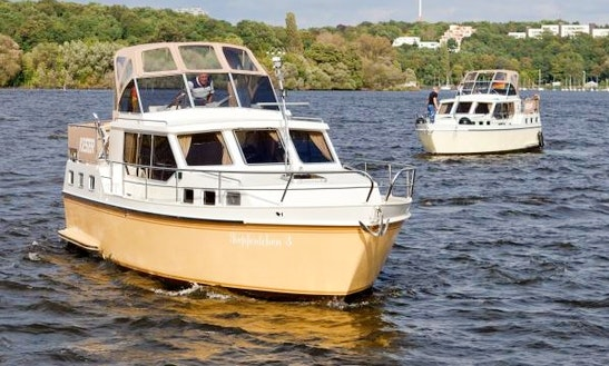Spend Your Vacation With The Whole Family In Berlin, Germany On This Motor Yacht