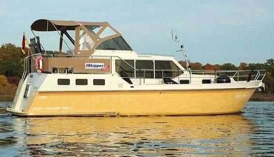 Charter A 2012 Keser-hollandia 1080 C Motor Yacht In Berlin, Germany