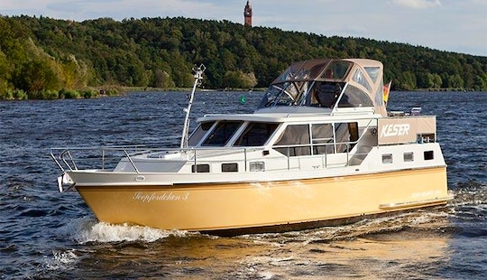 Charter A 2011 Keser-hollandia Motor Yacht In Berlin, Germany