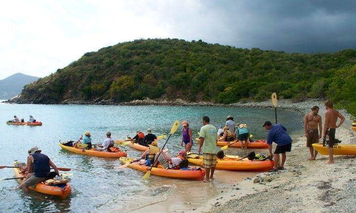Kayak Eco-Tour in St. John