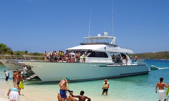 86' Power Catamaran In Antigua