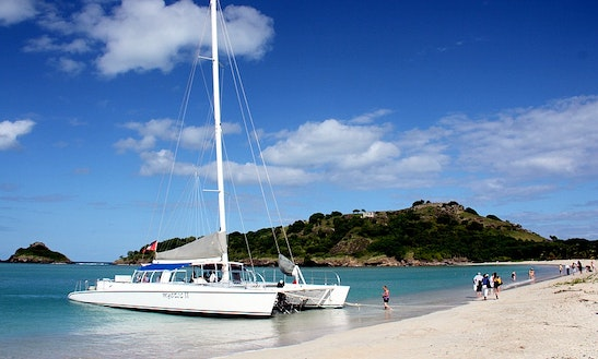 Mystic Sailing Catamaran In Antigua