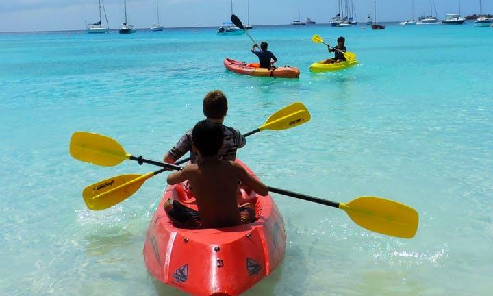 Single Kayak Rental in Bridgetown, Barbados
