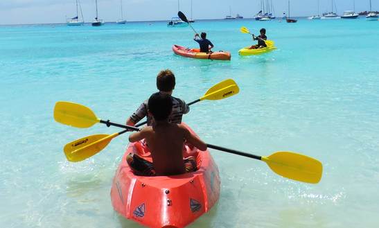 Single Kayak Rental, In Barbados
