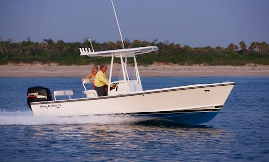 Enjoy Fishing In Marsh Harbour, Central Abaco On 23' Albury Brothers Center Console