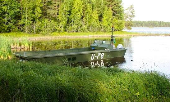 Power Boat Rental In Koskenpää