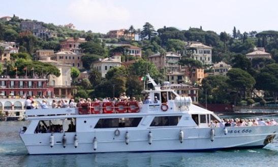 82' Portifino Passenger Boat In Rapallo