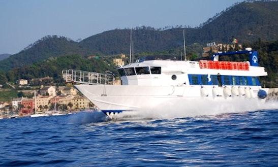Stress Passenger Boat In Rapallo