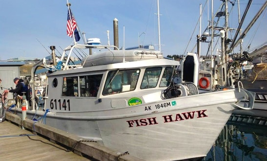 33' Sport Fisherman Charter In Kodiak, Alaska