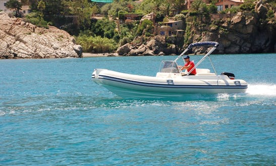 Book The Seapower 550 Gtr Rib For 8 Person!