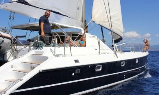 Cruise Aboard A Privilege 45 Sailing Catamaran For 10 Person In Greece
