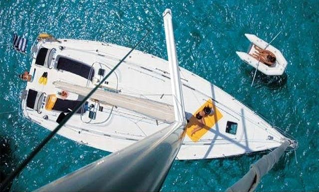 Charter a Luxury Cyclades 39 Sailing Yacht for 8 Person in Dalmatia County