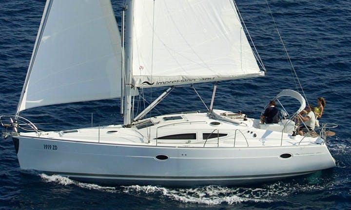 Cruise Croatia on 'Relax Point' Elan 384 Impression