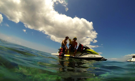 Jet Ski Rentals & Tours At St Kitts Water Sports