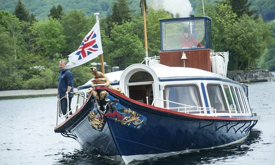 Steam Yacht Gondola In Coniston