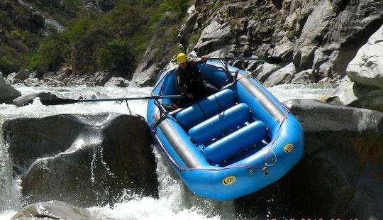 River Rafting In Cusco, Peru