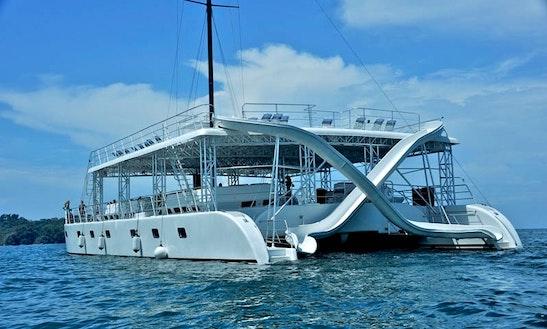 Ocean King Catamaran Tour In Quepos