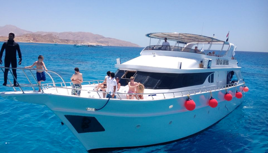 Daily Diving Yacht Charter In Egypt