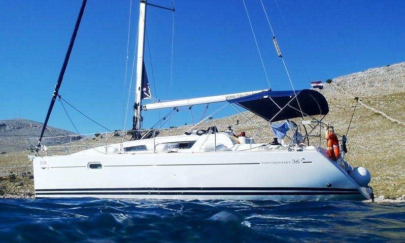 Charter Sun Odyssey 36i ' KATE'  in Trogir