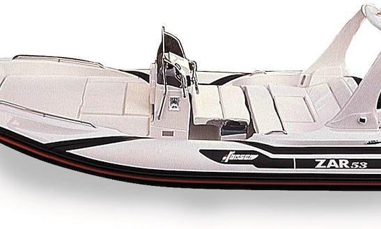 Zar 65 Deck Boat Rental In Pollença