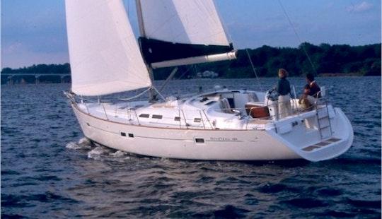 Charter Luxury Monohull Oceanis 423  'poseidon' In Croatia