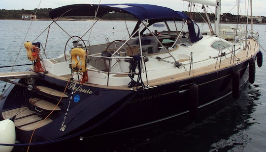 Charter A 10 Person Sun Odyssey 34 Ds Sailing Yacht In Portocolom, Illes Balears