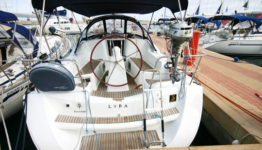 Beautiful 10 Person Sailing Yacht For Charter In Portocolom, Spain