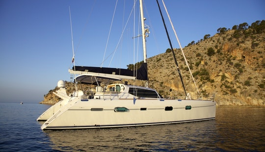 Perfect Family Vacation With Lagoon 400 Catamaran To Portocolom, Illes Balears For 6 People