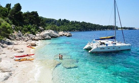 Cruising Catamaran Rental In Dubrovnik-komolac