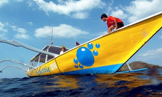 Fun Dive Boat In Indonesia