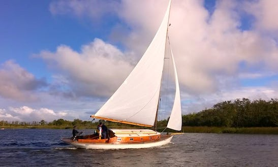 Hire This 36' Lapwing Sloop In Martham
