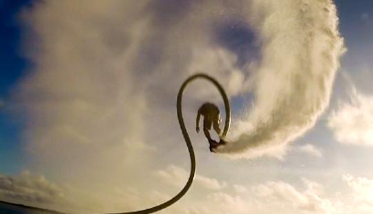 Flyboarding In Wrightsville Beach