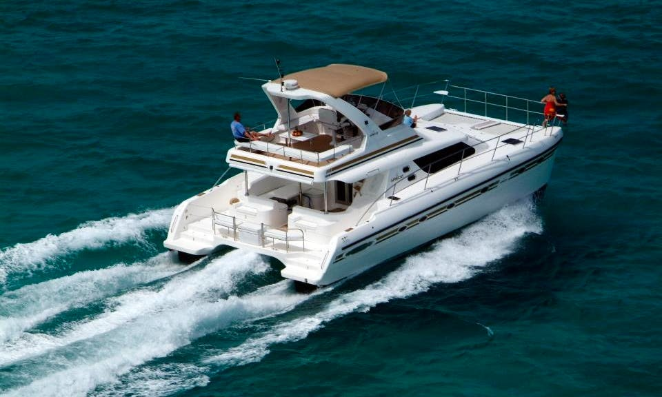 "Charter 42ft ""Dream Aweigh III"" Power Catamaran In Caicos Islands, Turks and Caicos Islands"