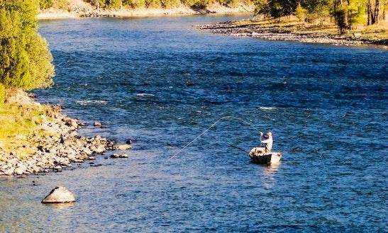 Floating Fishing In Livingston