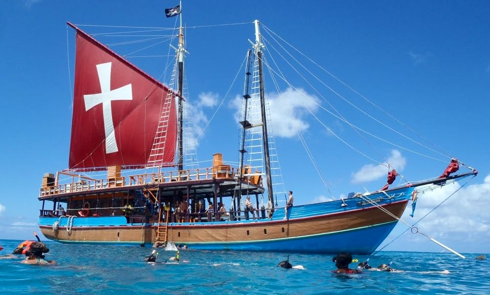 "Lunch Cruises on ""The Jolly Roger 1"" Sailboat in Barbados"