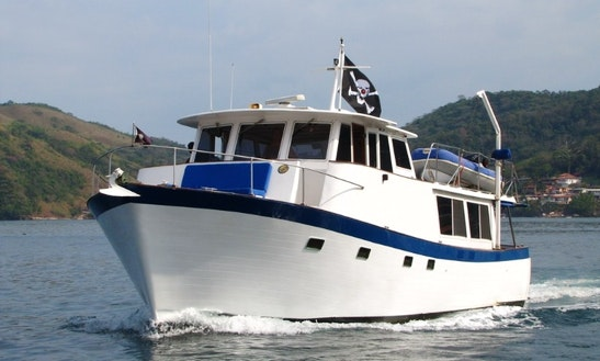 47′ Trawler Charter In Panamá, Panama