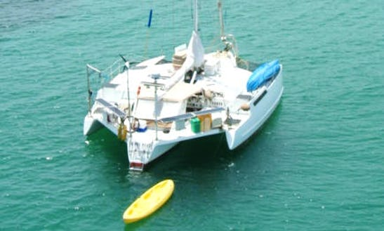41′ Cruising Catamaran Charter In Panamá, Panama