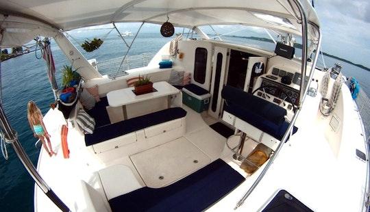 45′ Cruising Catamaran Charter In Panamá, Panama