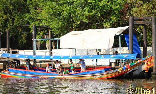 Canal Boat Rental In Bangkok Thailand