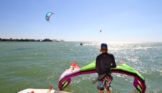 Kitesurfing Lesson In Key Biscayne