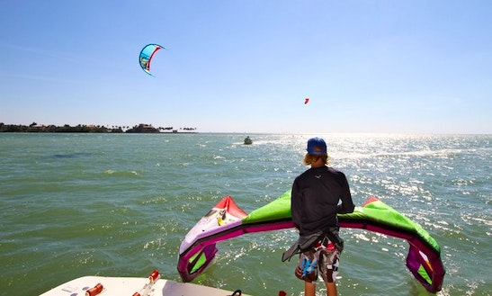 Kitesurfing Lesson In Key Biscayne