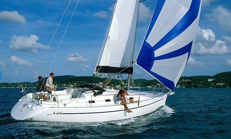 Hire a Harmony 38 Sailboat in Ajaccio, Corse