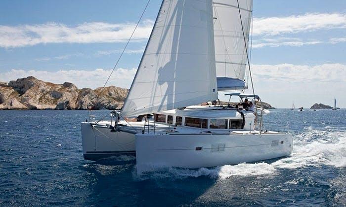 Hire a Lagoon 400 Catamaran in Ajaccio