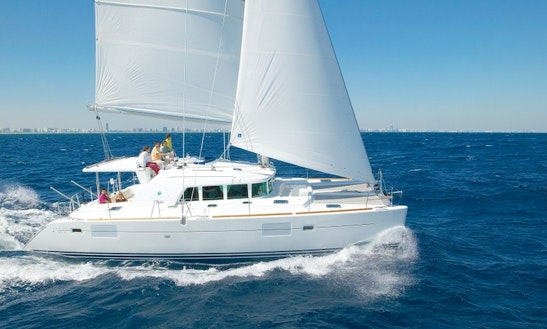 Lagoon 440 Cruising Catamaran Charter