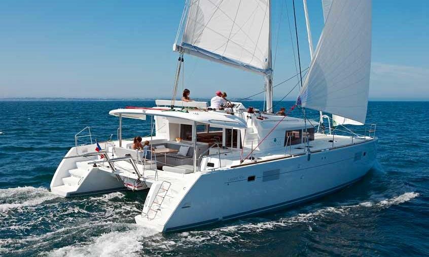 Lagoon 450 Skippered Charter in Ajaccio