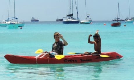 Cobra Tandem Kayak for Rent in Barbados
