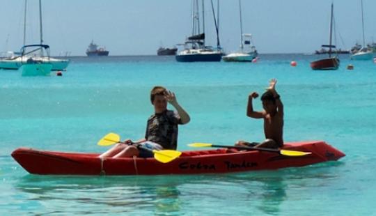 Cobra Tandem Kayak For Rent In Barbados