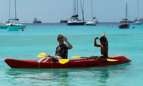 Double Kayak Rental In Barbados