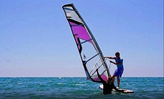 Windsurfing In Cyprus